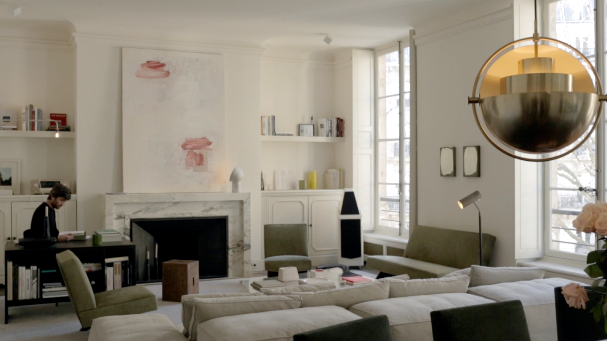 Step Inside The Parisian Home Of Jean Touitou, A.P.C