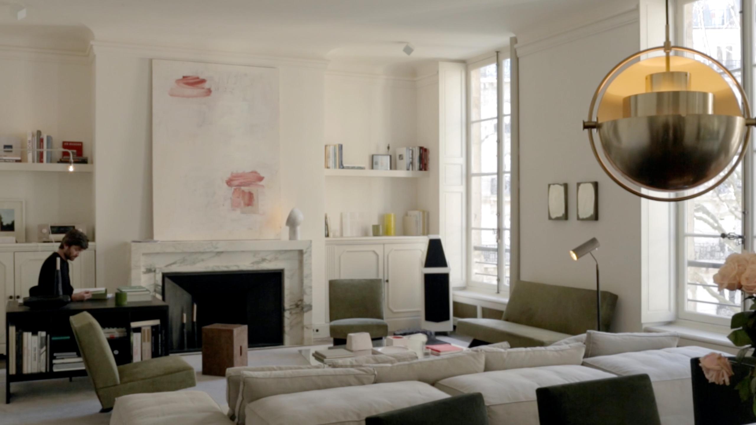 Step Inside The Parisian Home Of Jean Touitou, A.P.C